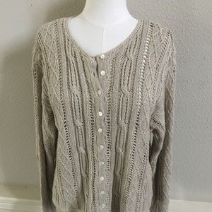 🍂GAP Size Small Linen Cotton Cardigan